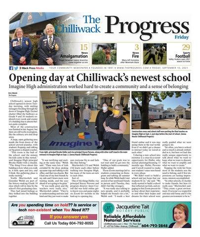 Chilliwack Progress, September 10, 2021