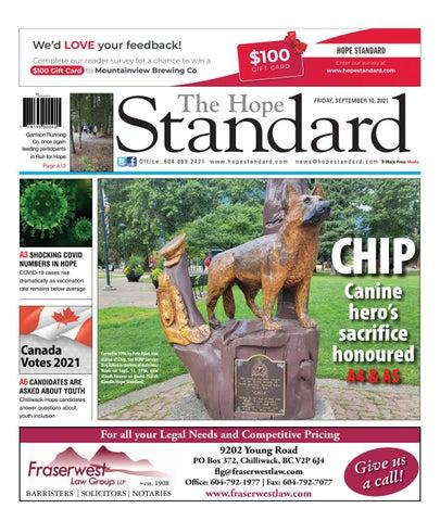 Hope Standard, September 10, 2021
