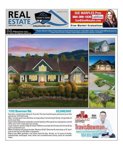 September 10, 2021 Real Estate Weekly - Abbotsford