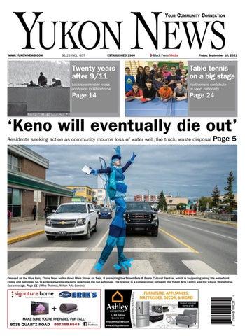Yukon News, September 10, 2021