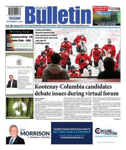 Kimberley Daily Bulletin, September 14, 2021