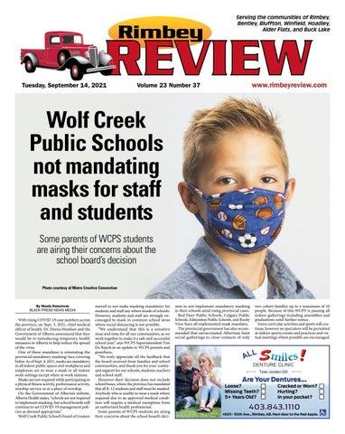 Rimbey Review, September 14, 2021