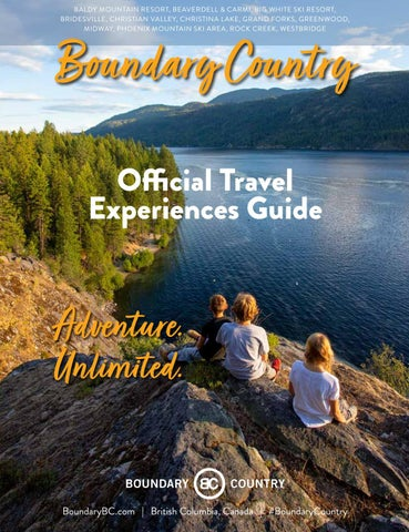 Boundary Country Travel Experience Guide
