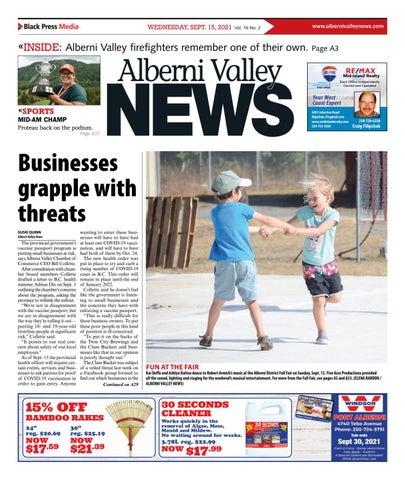 Alberni Valley News, September 15, 2021