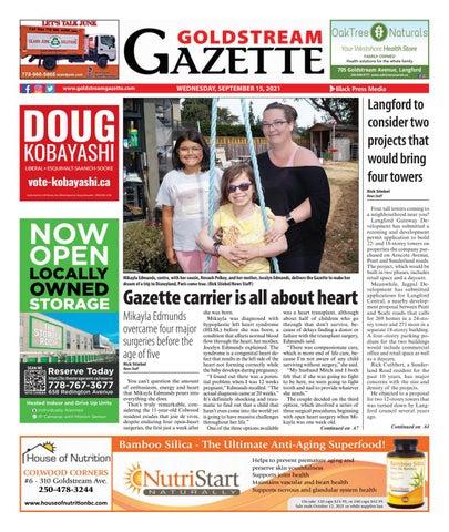 Goldstream News Gazette, September 15, 2021