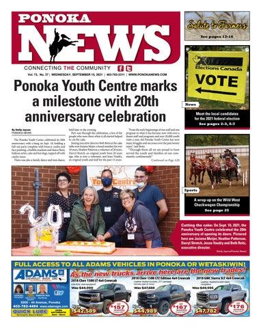 Ponoka News, September 15, 2021