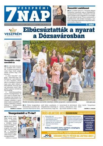 Veszprémi 7 Nap - 2021. 09. 16.