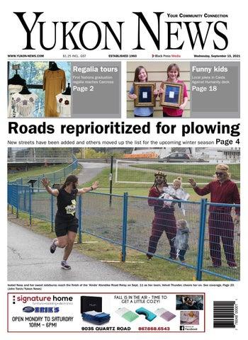 Yukon News, September 15, 2021