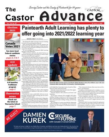 Castor Advance, September 16, 2021