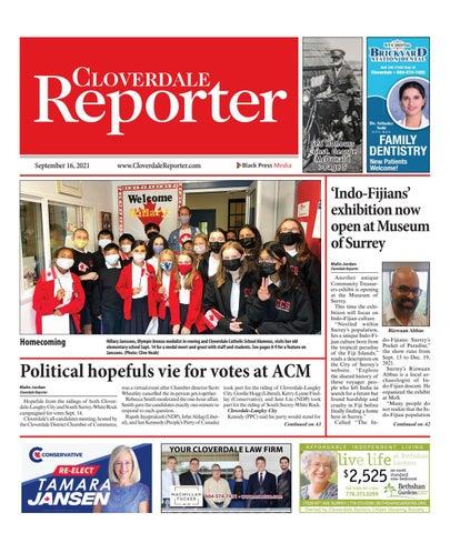Cloverdale Reporter, September 16, 2021