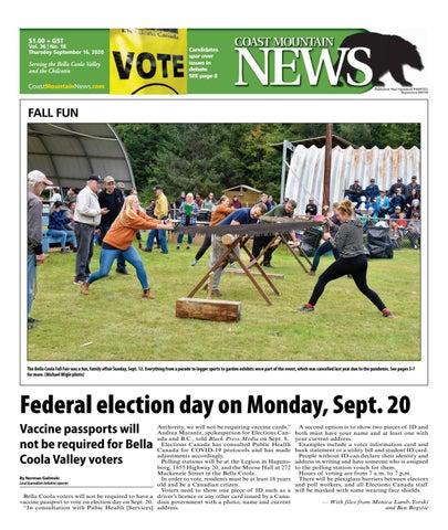 Coast Mountain News, September 16, 2021