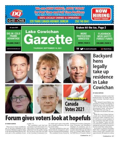 Lake Cowichan Gazette, September 16, 2021