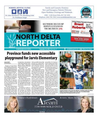 North Delta Reporter, September 16, 2021