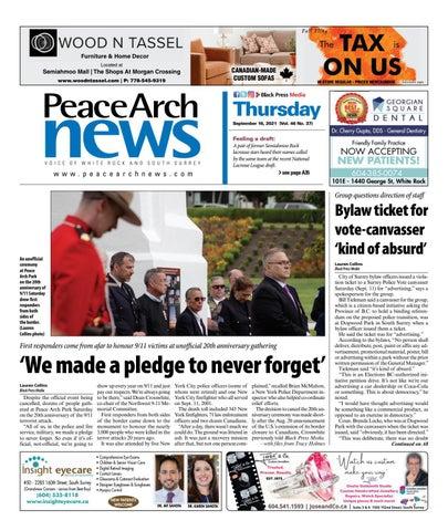 Peace Arch News, September 16, 2021