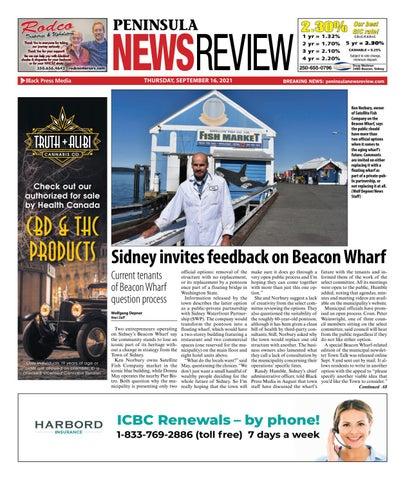 Peninsula News Review, September 16, 2021