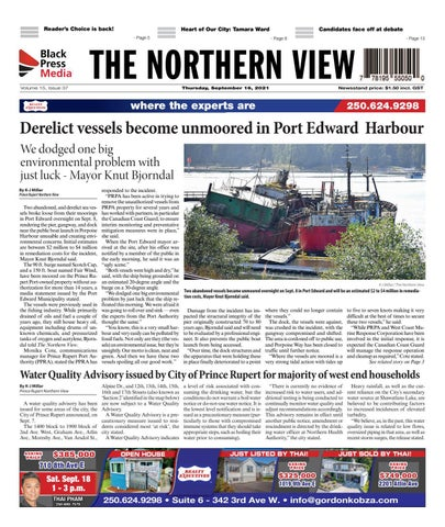 The Northern View/Northern Connector, September 16, 2021