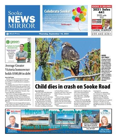 Sooke News Mirror, September 16, 2021