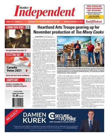Stettler Independent, September 16, 2021