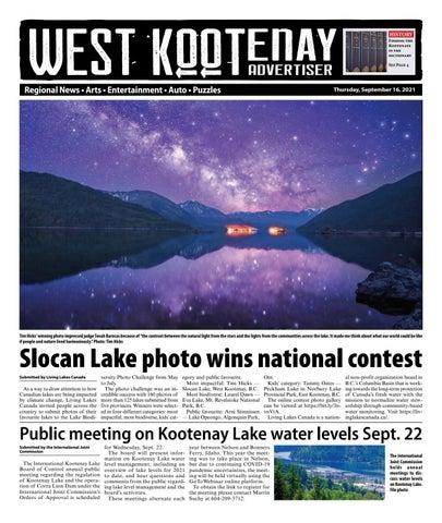 Grand Forks Gazette/West Kootenay Advertiser, September 16, 2021