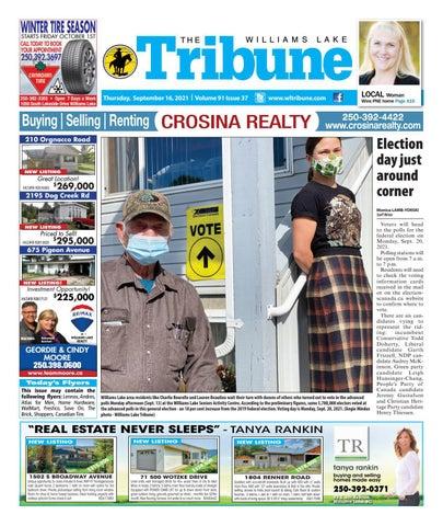 Williams Lake Tribune, September 16, 2021