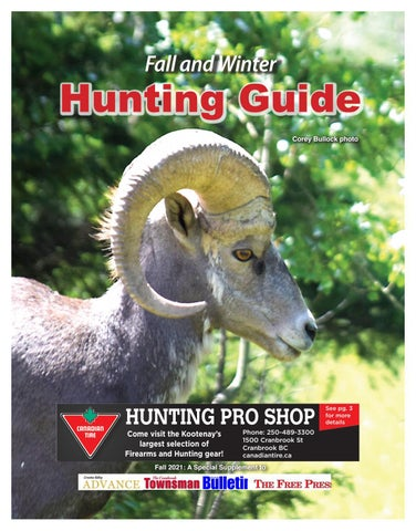 Hunting Guide 2021