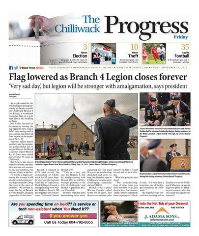 Chilliwack Progress, September 17, 2021