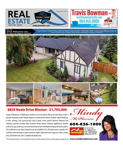 September 17, 2021 Real Estate Weekly - Abbotsford