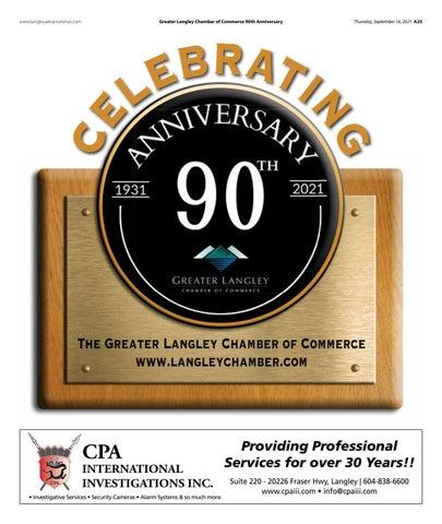 Chamber 90th Anniversary 2021
