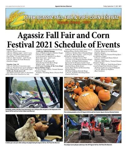 Agassiz Fall Fair 2021