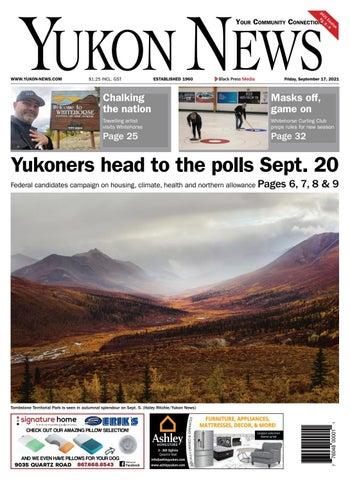 Yukon News, September 17, 2021