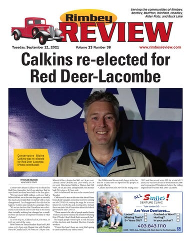 Rimbey Review, September 21, 2021