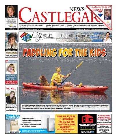 Castlegar News/West Kootenay Advertiser, September 16, 2021