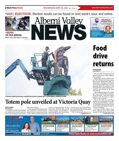 Alberni Valley News, September 22, 2021