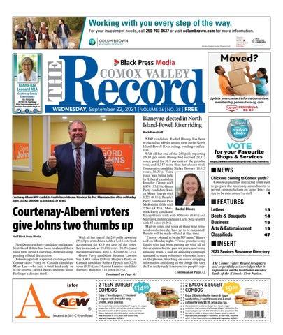 Comox Valley Record, September 22, 2021