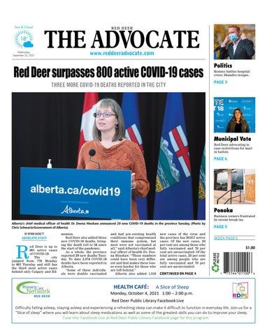 Red Deer Advocate, September 22, 2021