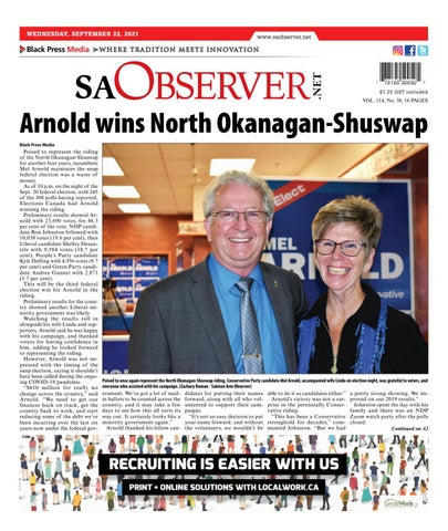 Salmon Arm Observer, September 22, 2021