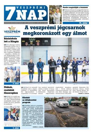 Veszprémi 7 Nap - 2021. 09. 23.