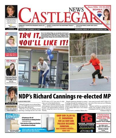 Castlegar News/West Kootenay Advertiser, September 23, 2021