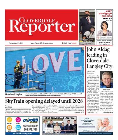 Cloverdale Reporter, September 23, 2021