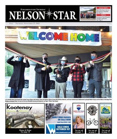 Nelson Star/West Kootenay Advertiser, September 23, 2021
