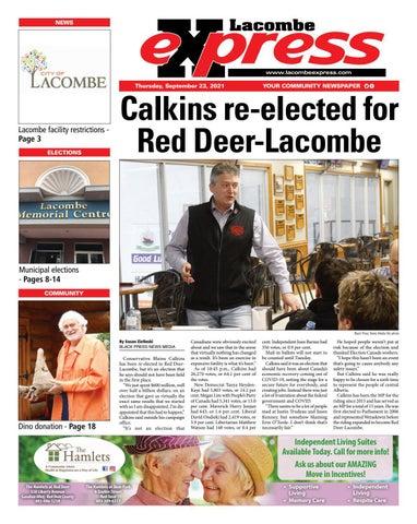 Lacombe Express, September 23, 2021