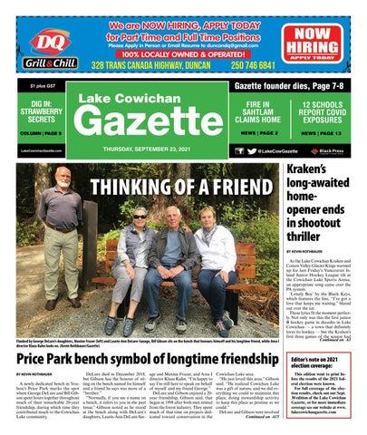 Lake Cowichan Gazette, September 23, 2021