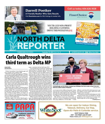 North Delta Reporter, September 23, 2021