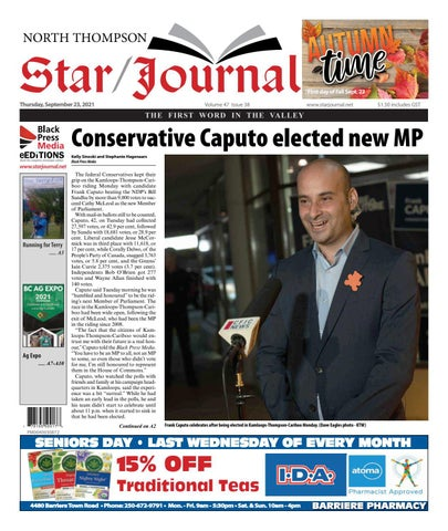 Barriere Star Journal, September 23, 2021