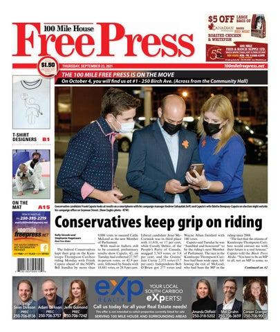 100 Mile House Free Press, September 23, 2021