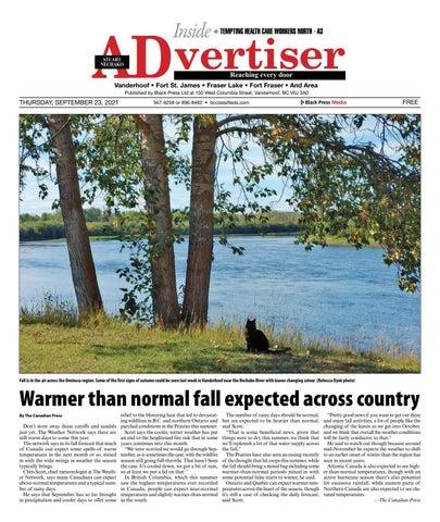 Vanderhoof Omineca Express/Stuart Nechako Advertiser, September 23, 2021