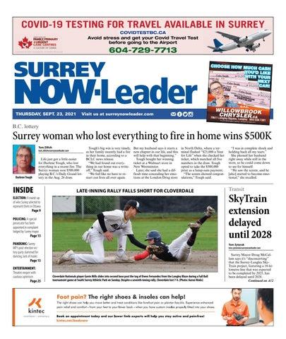 Surrey Now Leader, September 23, 2021