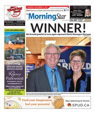 Vernon Morning Star, September 23, 2021