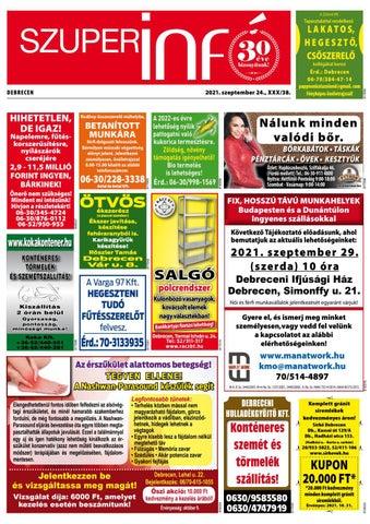 Debrecen 2021.09.24