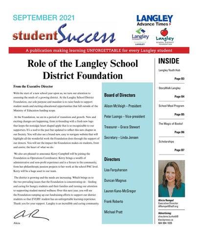 Student Success September 2021